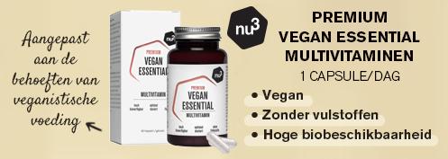 Vegan Essential Multivitaminen | Farmaline.be