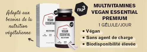 Multivitamines vegan essential | Farmaline.be