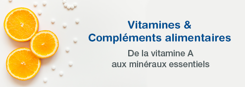 Vitamines & Compléments Alimentaires | Farmaline.be