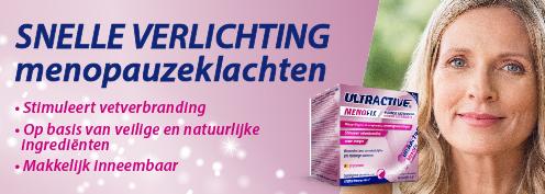 Ultractive Menofix | Farmaline.be