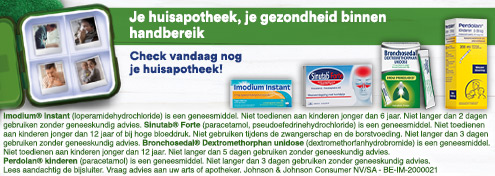 Huisapotheek | Farmaline.be