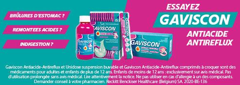 Gaviscon | Farmaline.be