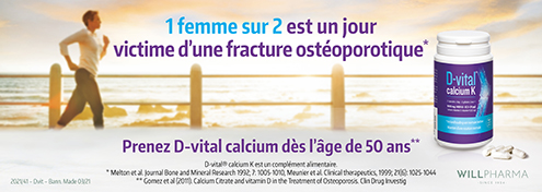 D-Vital Calcium K | Farmaline.be