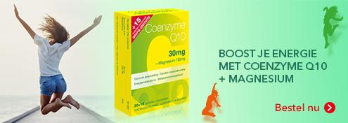 CoQ10 + Magnesium | Farmaline.be