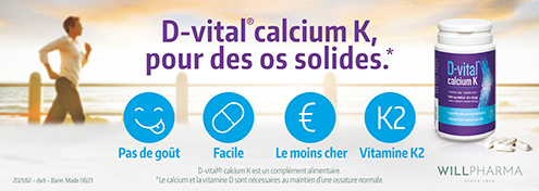 DVital Calcium K  | Farmaline.be